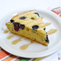 Lemon Blueberry Cornbread Skillet