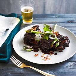 Lemongrass and tamarind beef ribs