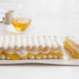 Lemon Meringue Napoleon with Ginger Cream