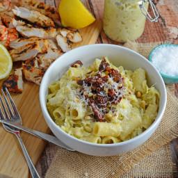 Lemony Artichoke Pesto with Pasta