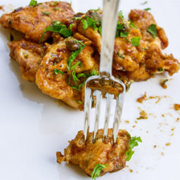 Lemony Chicken Marsala