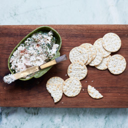 Lemony Smoked Trout Dip