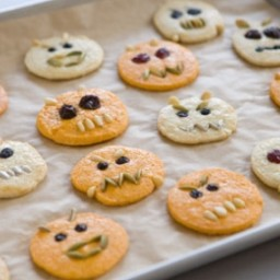 Lemony Sugar Cookie Monsters