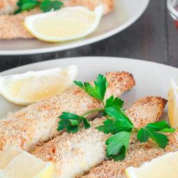 Lemony Tilapia Fish Sticks