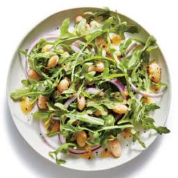Lemony White Bean-and-Arugula Salad