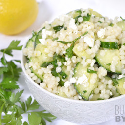 Lemony Cucumber Couscous Salad