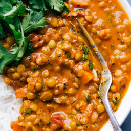 Lentil Curry (on the Stovetop!)