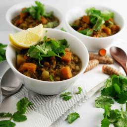 Lentil Dhal | Vegan, Gluten-Free