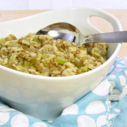 Lentil Risotto (Risotto alle Lenticchie) - pressure cooker recipe
