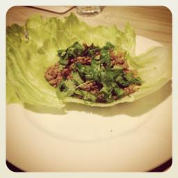 Lettuce Tacos / San Choy Bow