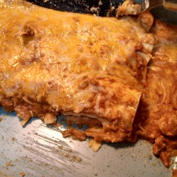 Life changing beef enchiladas