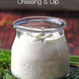 Light Buttermilk Ranch Dressing and Dip