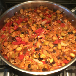 Light Eggplant Caponata