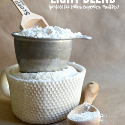 Light Gluten Free Flour Blend