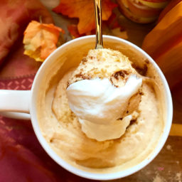 Light 'n' Lean Creamy Pumpkin PB Pudding