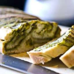 Light Pesto Bread
