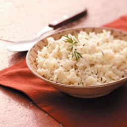 Light Rosemary Rice Recipe