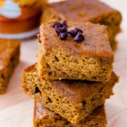 Lightened-Up Pumpkin Spice Bars