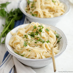 Lighter ( and Better That Way) Cauliflower Fettuccini Alfredo