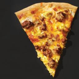 Lighter Breakfast Pizza