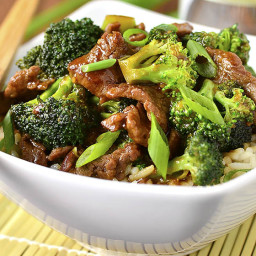 Lighter Broccoli Beef