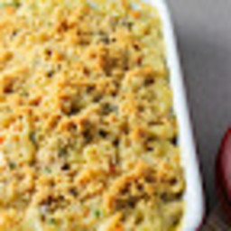 Lighter Cheesy Tuna Noodle Casserole (without Canned Cream Soup)