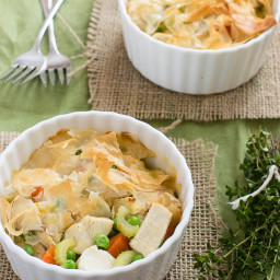 how to make dough for chicken pot pie