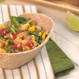 Lighter Southwestern Chicken Salad