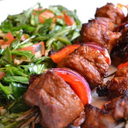 Lightning Lamb Kebabs