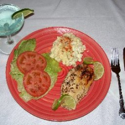 Lime-cumin-jalapeno Grilled Chicken Breasts