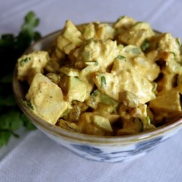 Lime-Ginger Curried Chicken Salad