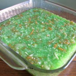 Lime Jello Cabbage Salad