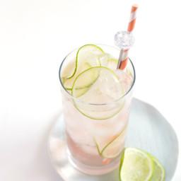 Lime Rosé Spritzer