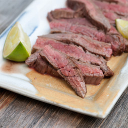 Lime and Ginger Steak
