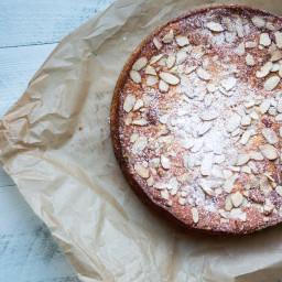 Limoncello Ricotta Almond Cake