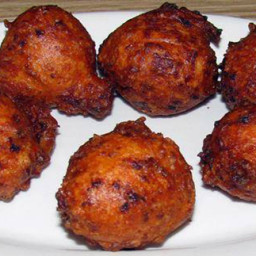 Linguica Clam Cakes