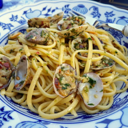 Linguine pasta alle vongole (linguine with clams) – The Pasta Project