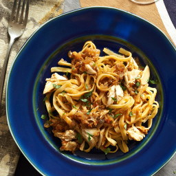 Linguine with Crab Meat