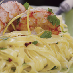 LINGUINE WITH LEMON SHRIMP