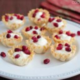 Little Pomegranate Dessert Cups