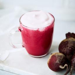 Liver Lovin' Beet Latte {Dairy-free, Paleo, Vegan}