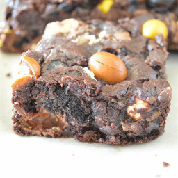 Loaded Candy-Packed Kitchen Sink Brownies