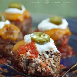 Loaded Nacho Meatballs - Keto