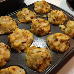 Loaded Potato Muffins