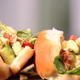 Lobster Cobb Salad Rolls