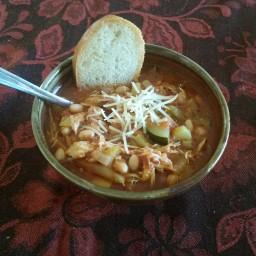 Lorna's Delicious Chicken Minestrone Soup