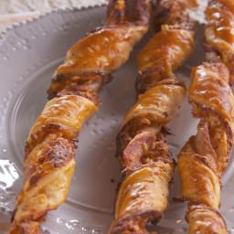 Lorraine's Bacon-Cheddar Straws