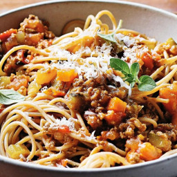 Louise's five-vegetable bolognaise