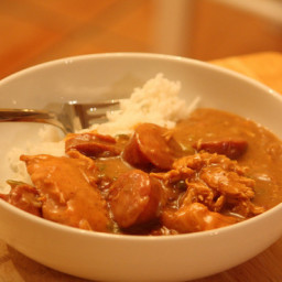 Louisiana Chicken and Sausage Gumbo(The Real Stuff)