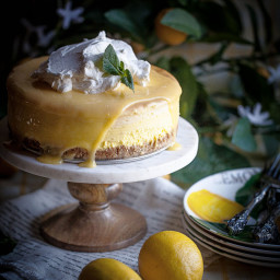 Lovely Lemon Cheesecake
